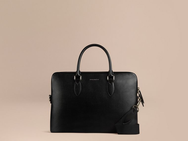 The Slim Barrow in London Leather in Black - cell image 4