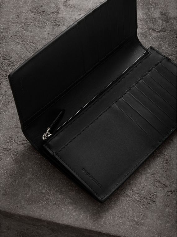 Cartera continental en piel London (Negro) | Burberry - cell image 3
