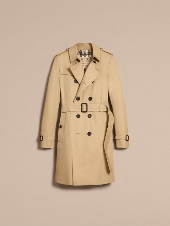 Miele The Chelsea - Trench coat Heritage lungo Miele - cell image 3