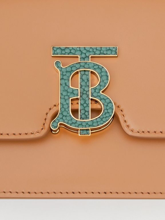 Borsa TB piccola in pelle (Semi Di Lino) - Donna | Burberry - cell image 1