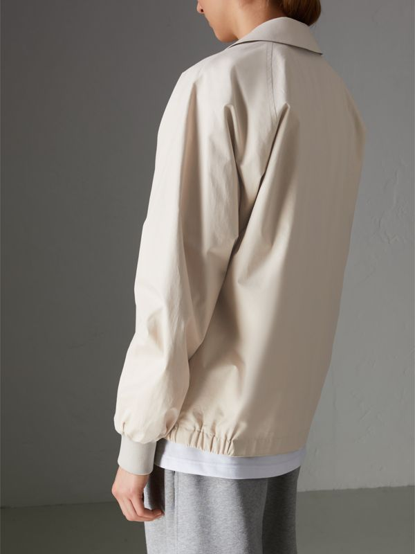 Reissued Cotton Harrington Jacket in Sand - Women | Burberry Singapore - cell image 2