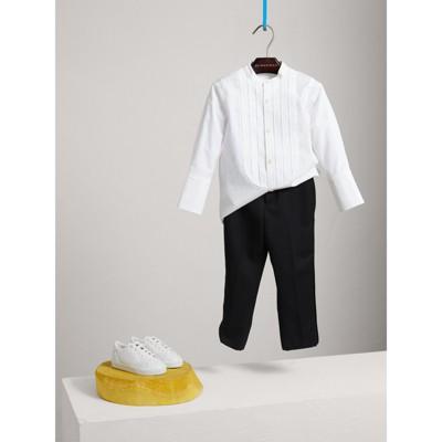 Burberry - Pantalon de smoking tailleur en laine - 1