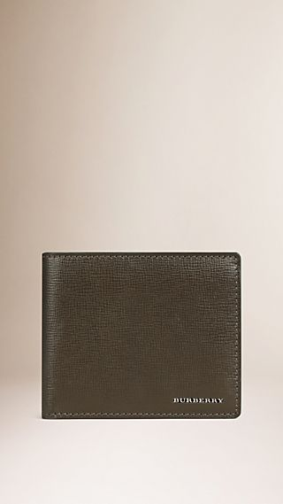 London Leather ID Wallet