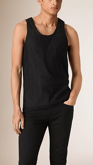 Italian Lace Vest