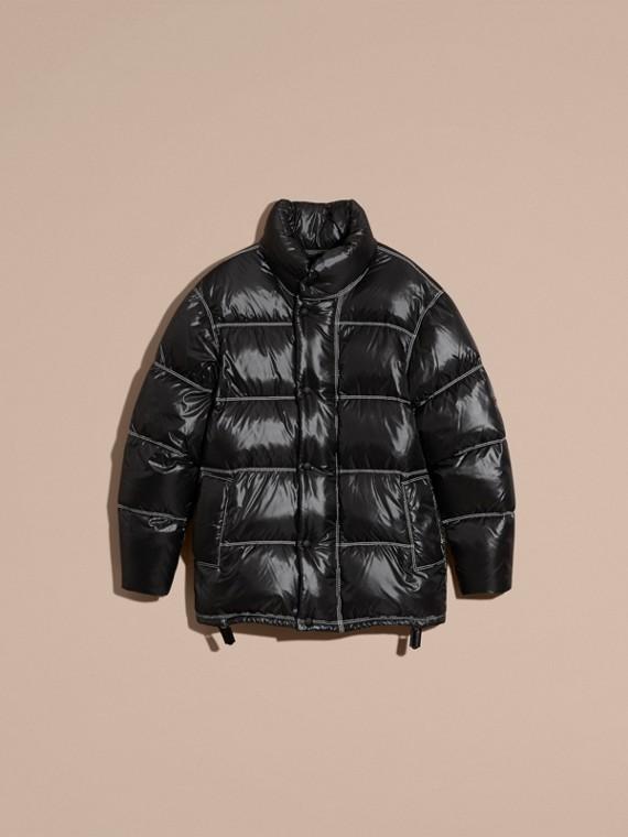 Черный Пальто на пуху - cell image 3