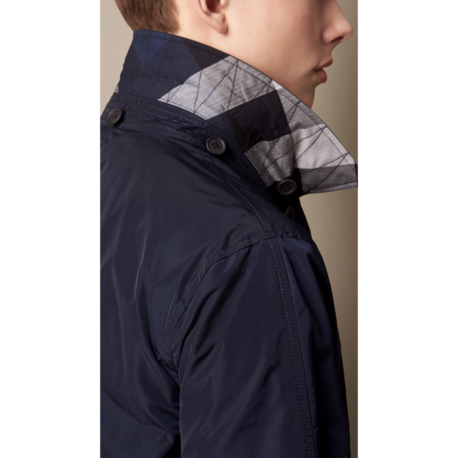 Technical Fabric Detachable Hood Jacket - Men | Burberry - gallery image 3