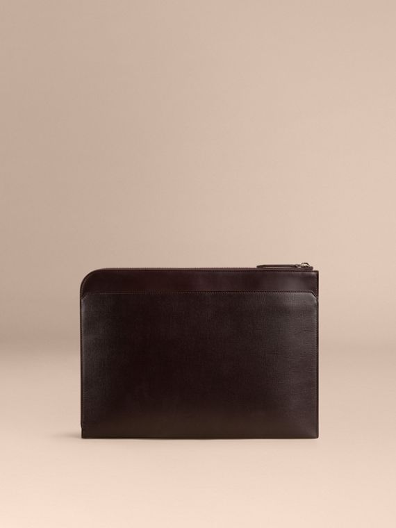 Wine London Leather Document Case - cell image 2