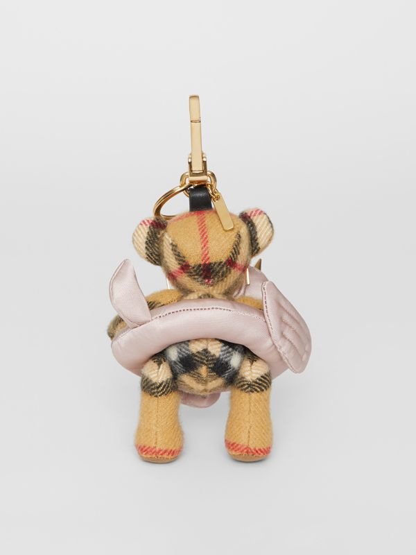 Thomas Bear Charm in Pool Float in Antique Yellow - Women | Burberry - cell image 3