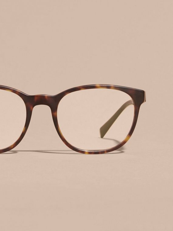 Square Optical Frames Tortoise Shell - cell image 2