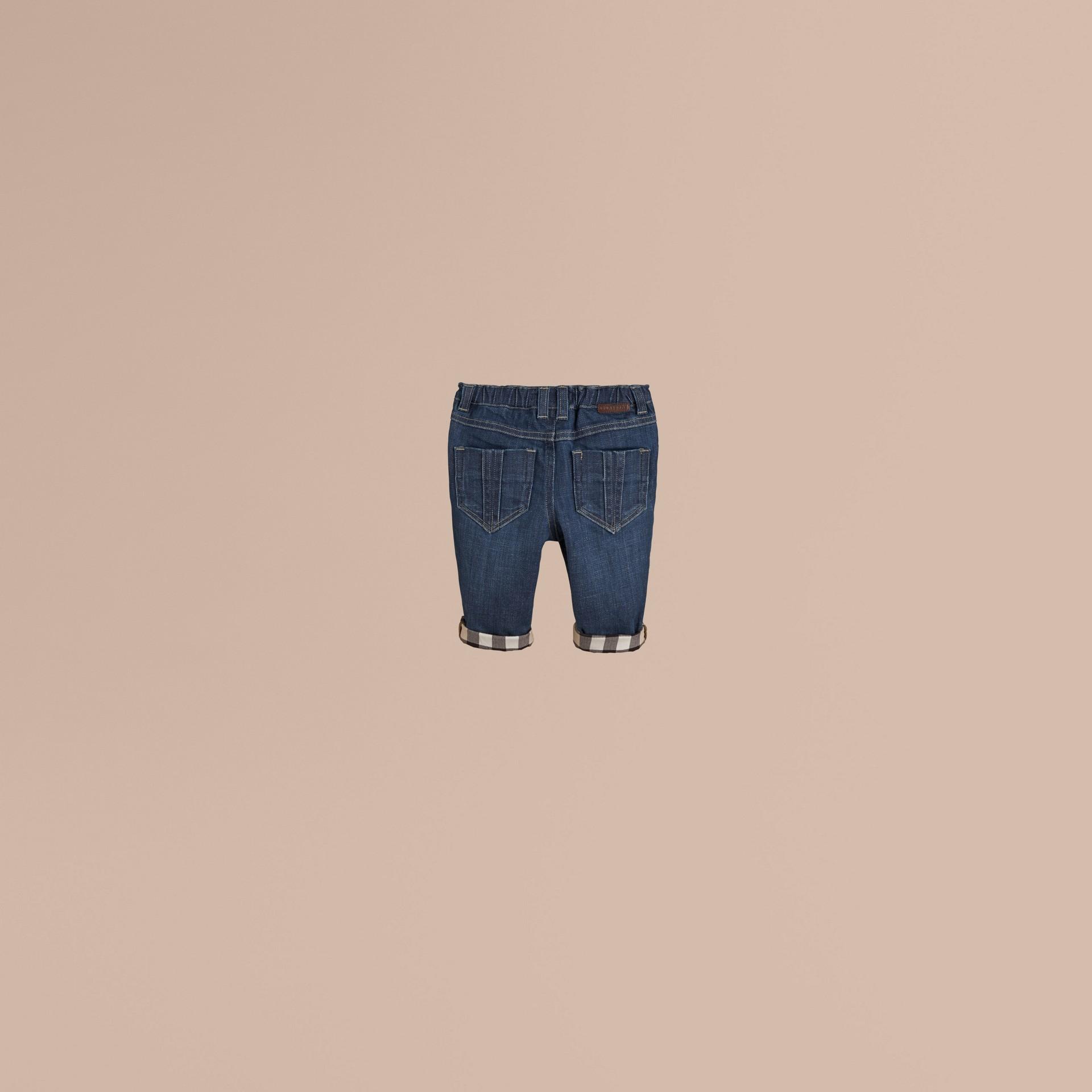 Blu Jeans in denim stretch - immagine della galleria 3