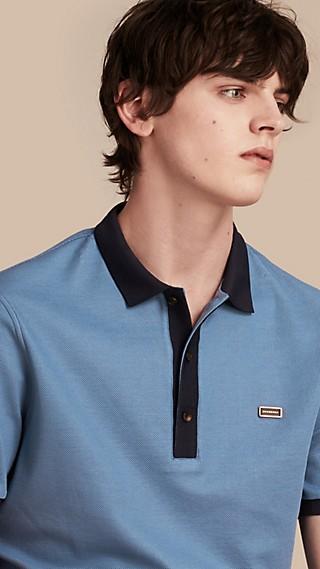 Poloshirt aus mercerisiertem Baumwollpiqué