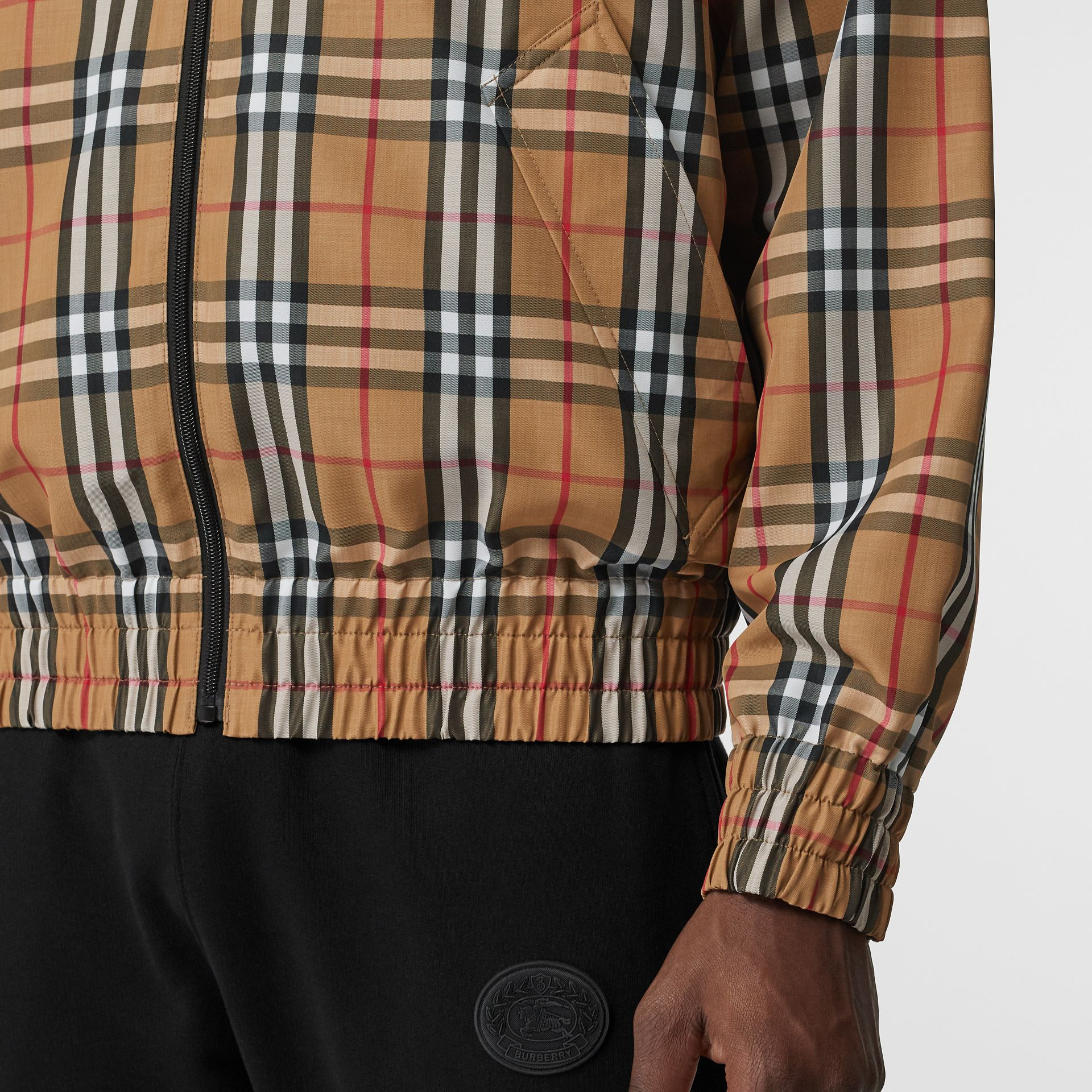 Vintage Check Lightweight Jacket in Yellow - Men | Burberry Australia - gallery image 4