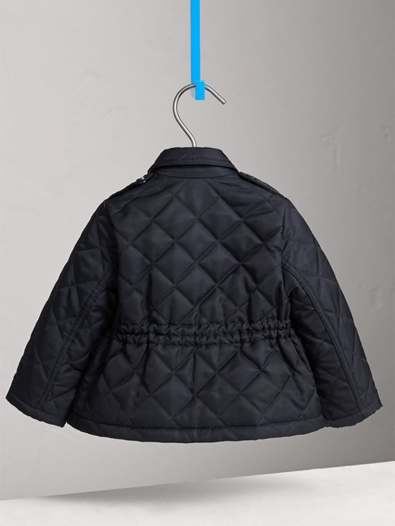 Quilted Jacket in Navy | Burberry Australia - cell image 3