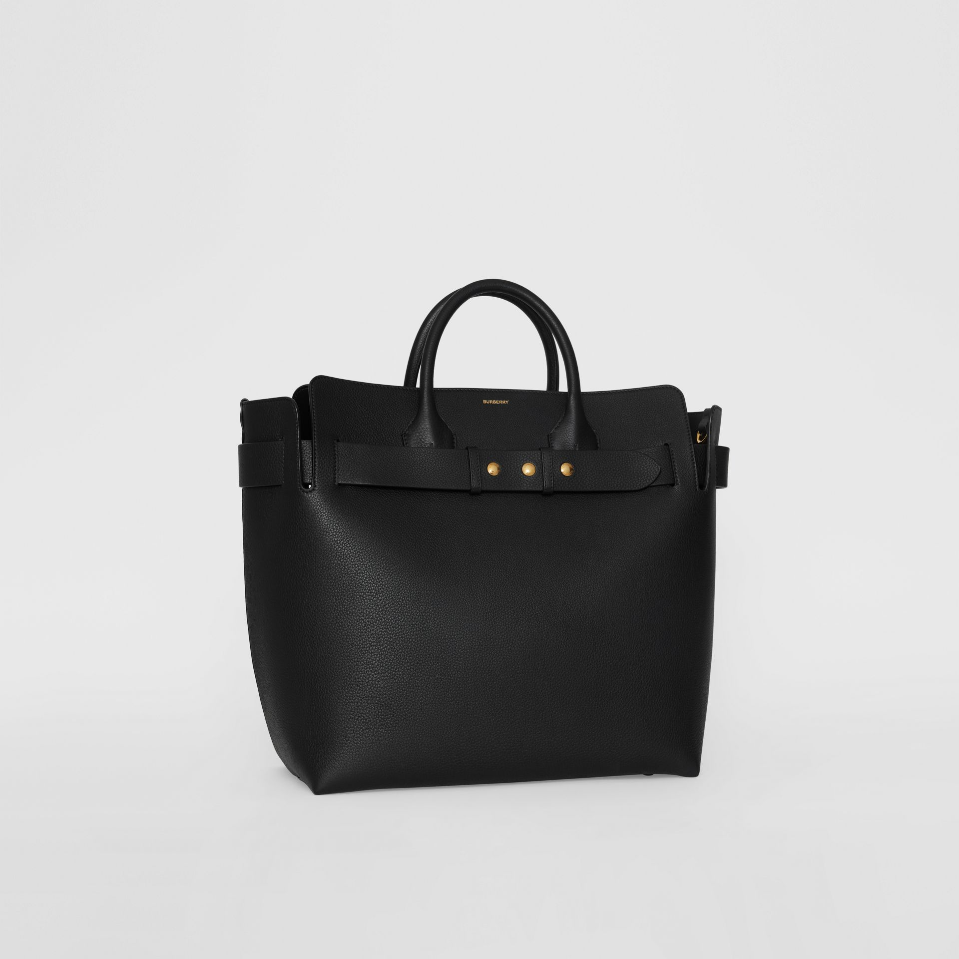 Borsa The Belt grande in pelle con tre borchie (Nero) - Donna | Burberry - immagine della galleria 8
