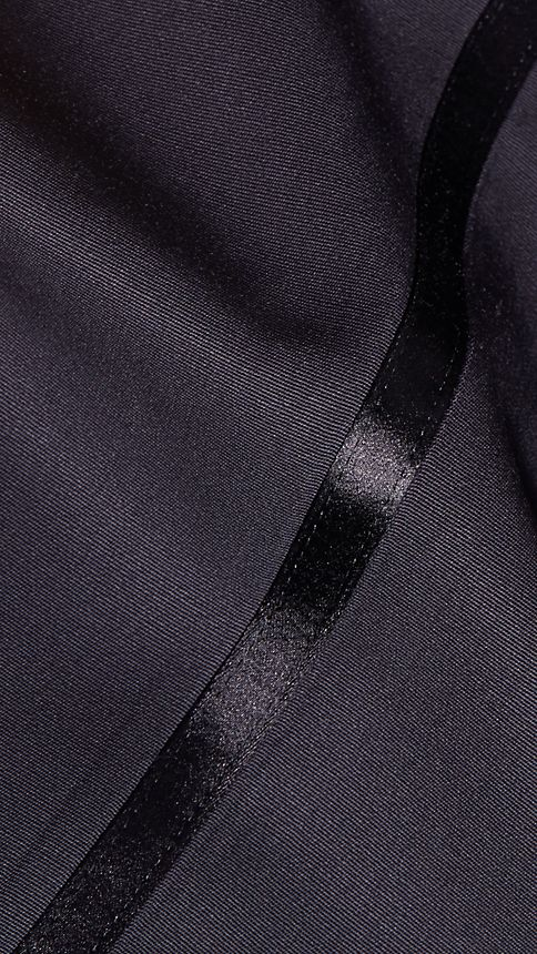 Navy Virgin Wool Tuxedo Trousers Navy - Image 6