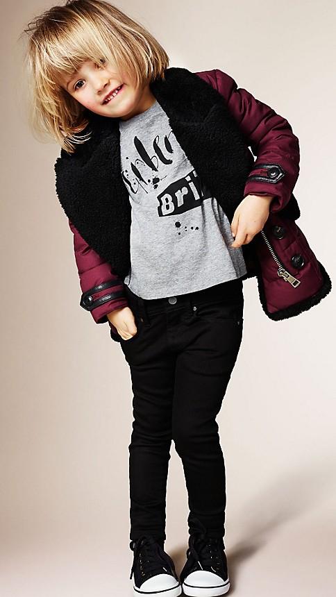 Black Skinny Fit Jeans - Image 4