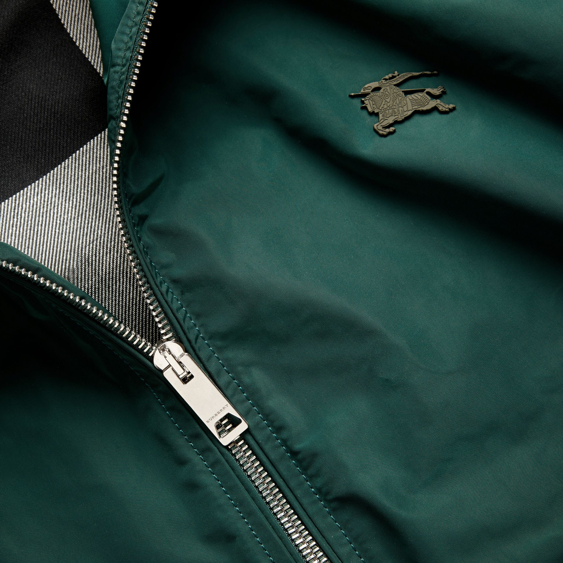 Lightweight Technical Jacket in Racing Green - Men | Burberry - gallery image 4