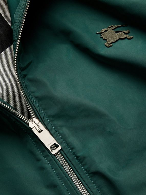 Lightweight Technical Jacket in Racing Green - Men | Burberry - cell image 3