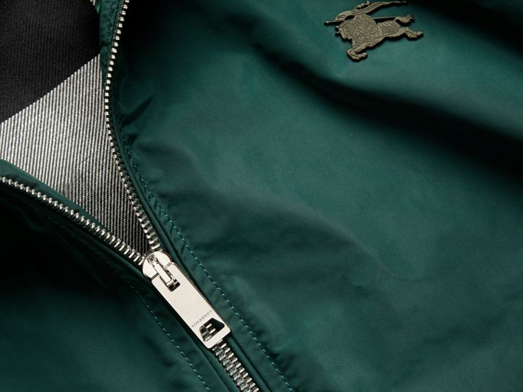 Lightweight Technical Jacket in Racing Green - Men | Burberry - cell image 1