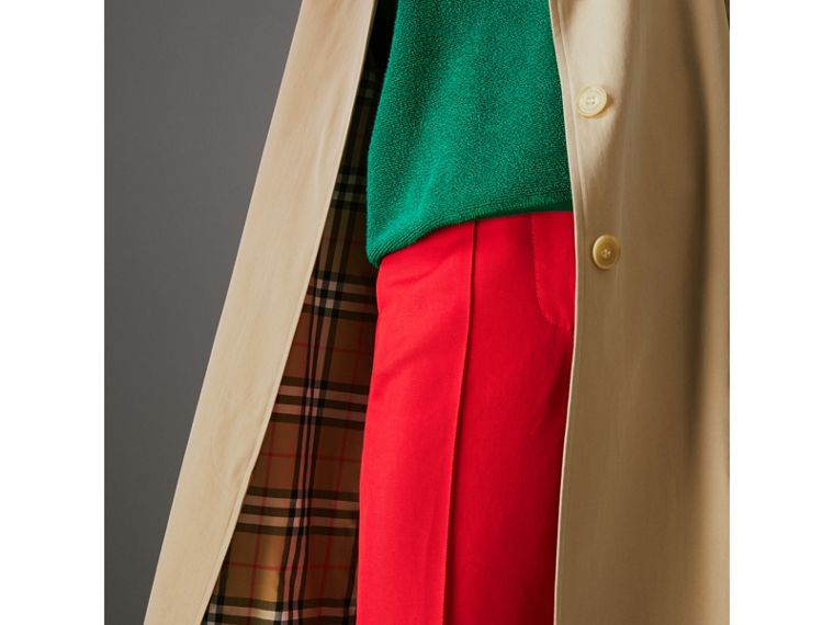 The Camden Car Coat in Honey - Women | Burberry Australia - cell image 1