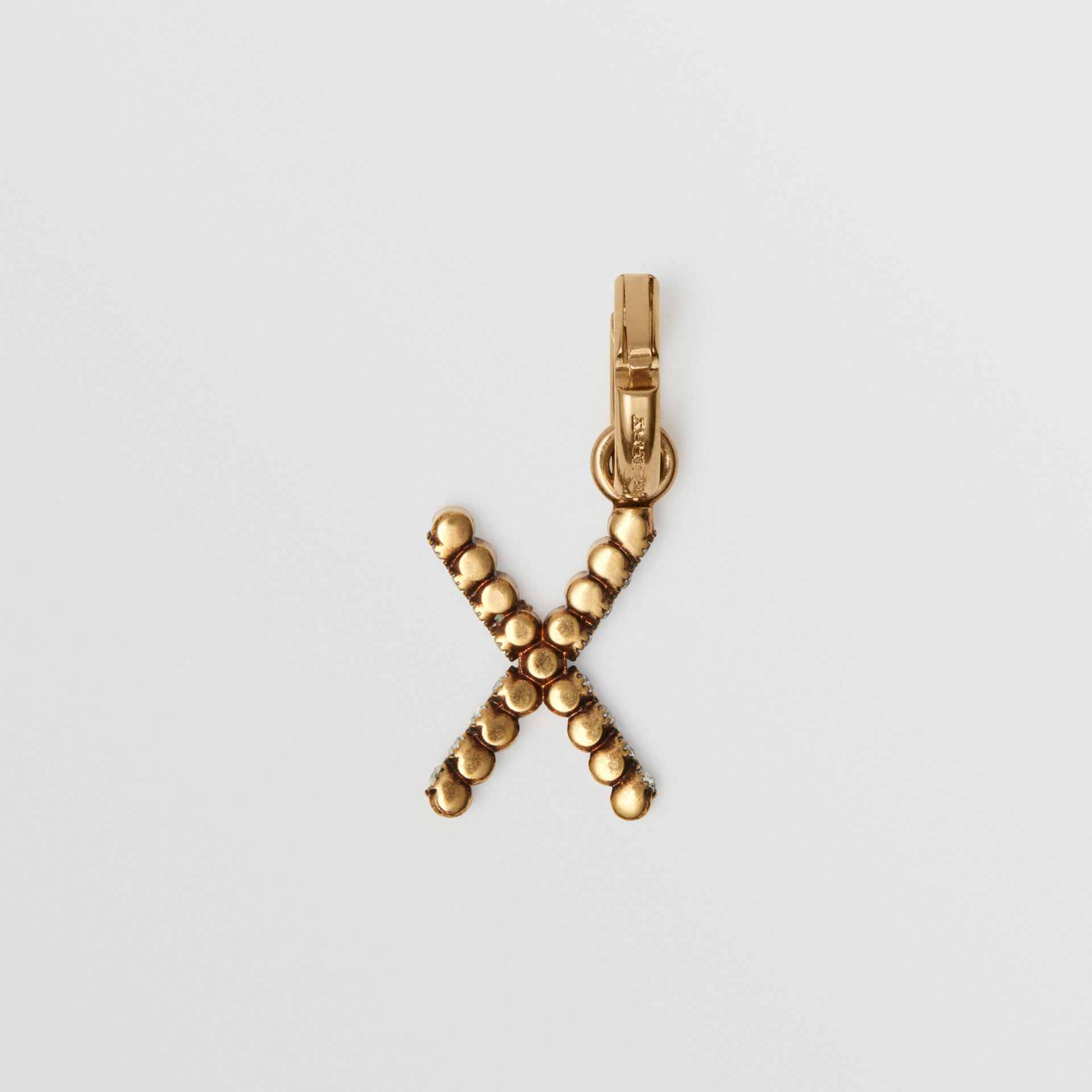 Crystal 'X' Alphabet Charm - Women | Burberry - gallery image 3