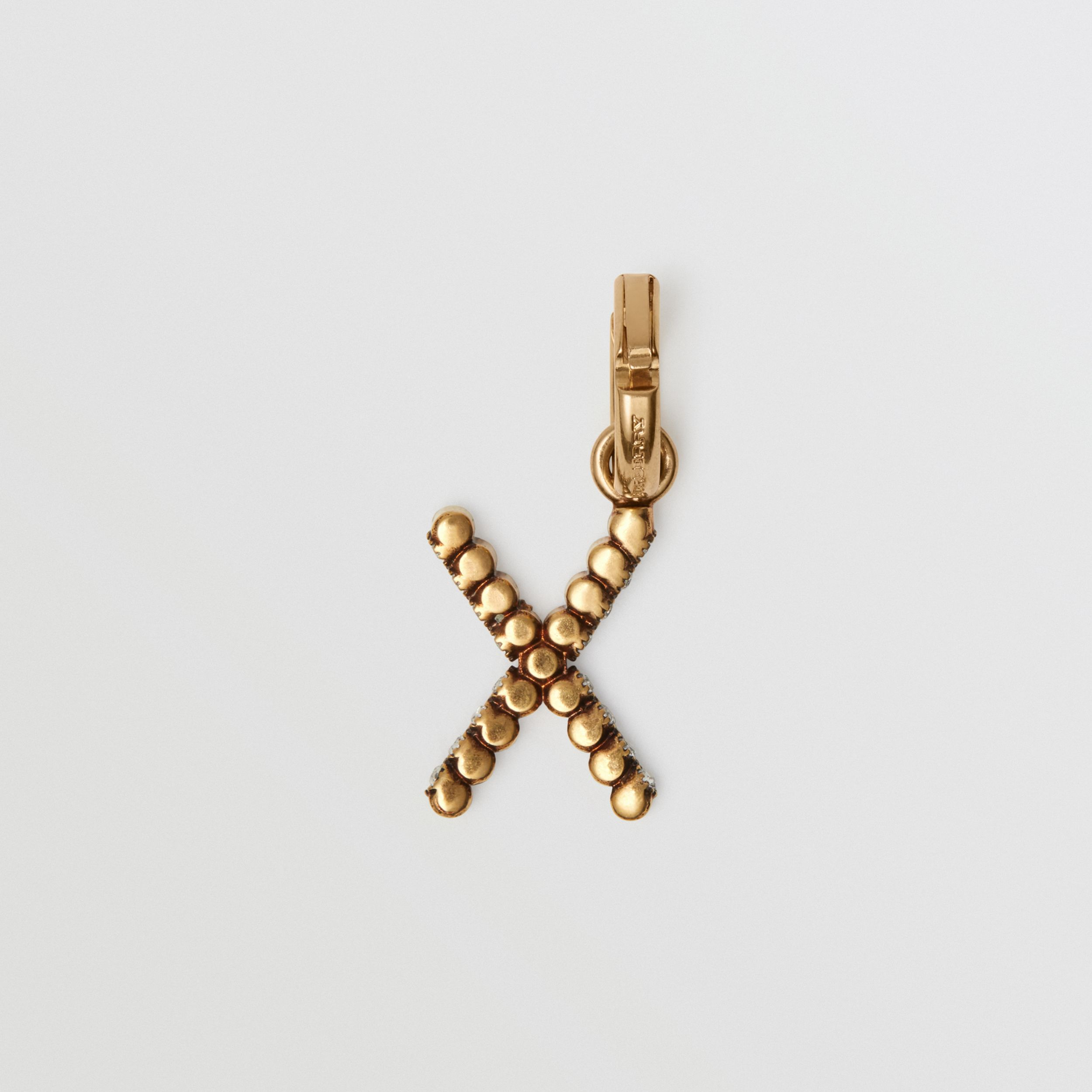 Crystal 'X' Alphabet Charm - Women | Burberry - 4