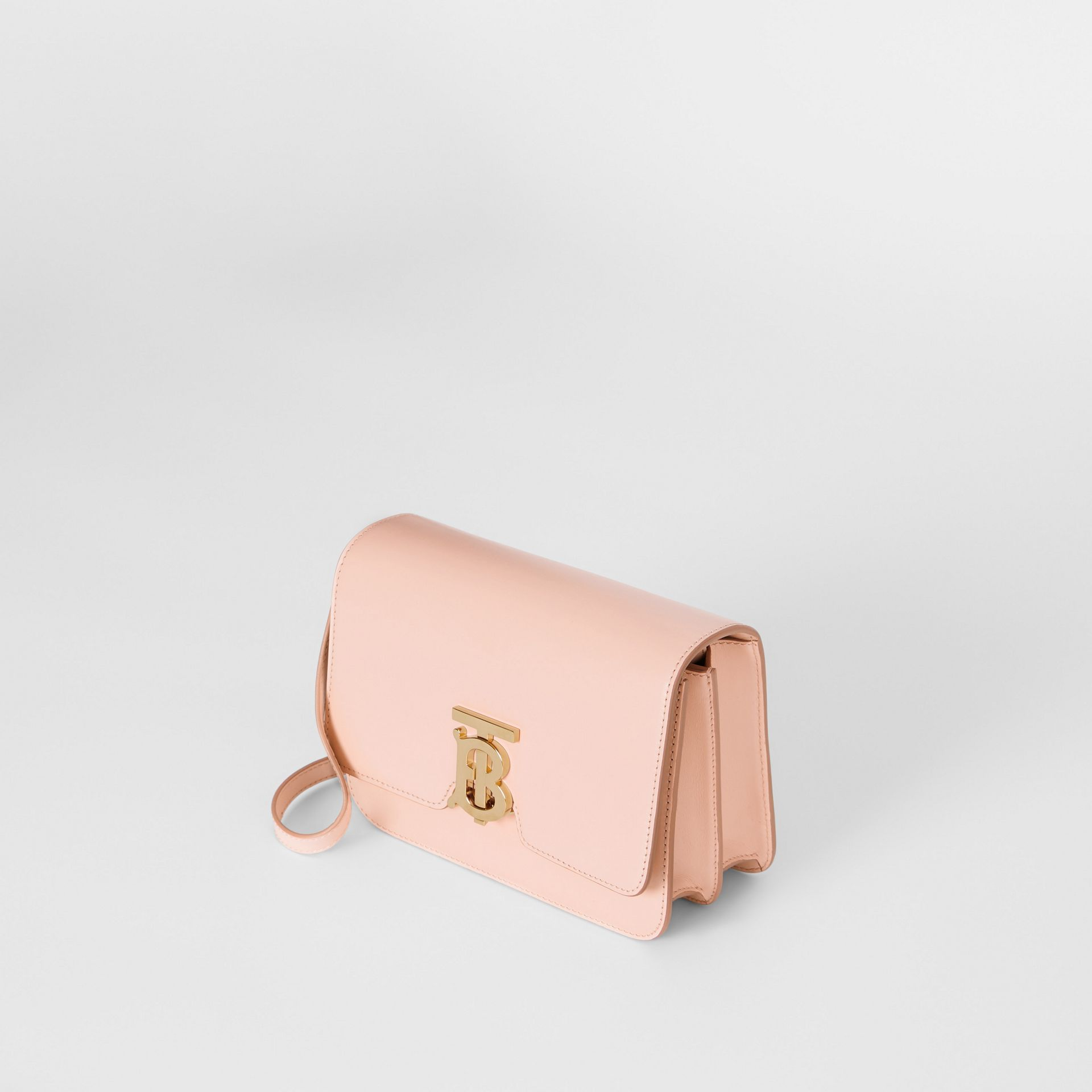 Small Leather TB Bag in Rose Beige - Women | Burberry - gallery image 3