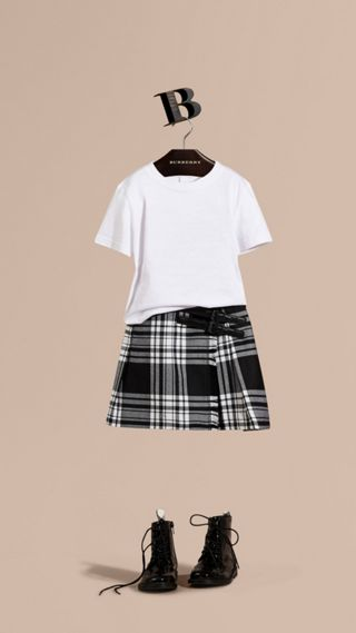 Check Wool Kilt