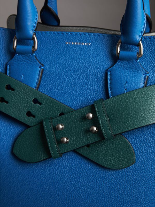The Small Belt Bag Grainy Leather Belt in Sea Green - Women | Burberry Australia - cell image 3