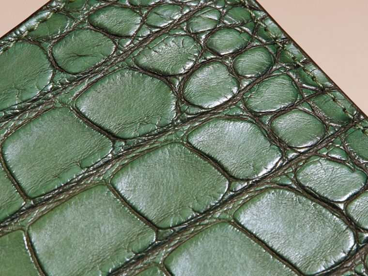Sage Alligator Folding Wallet - cell image 1