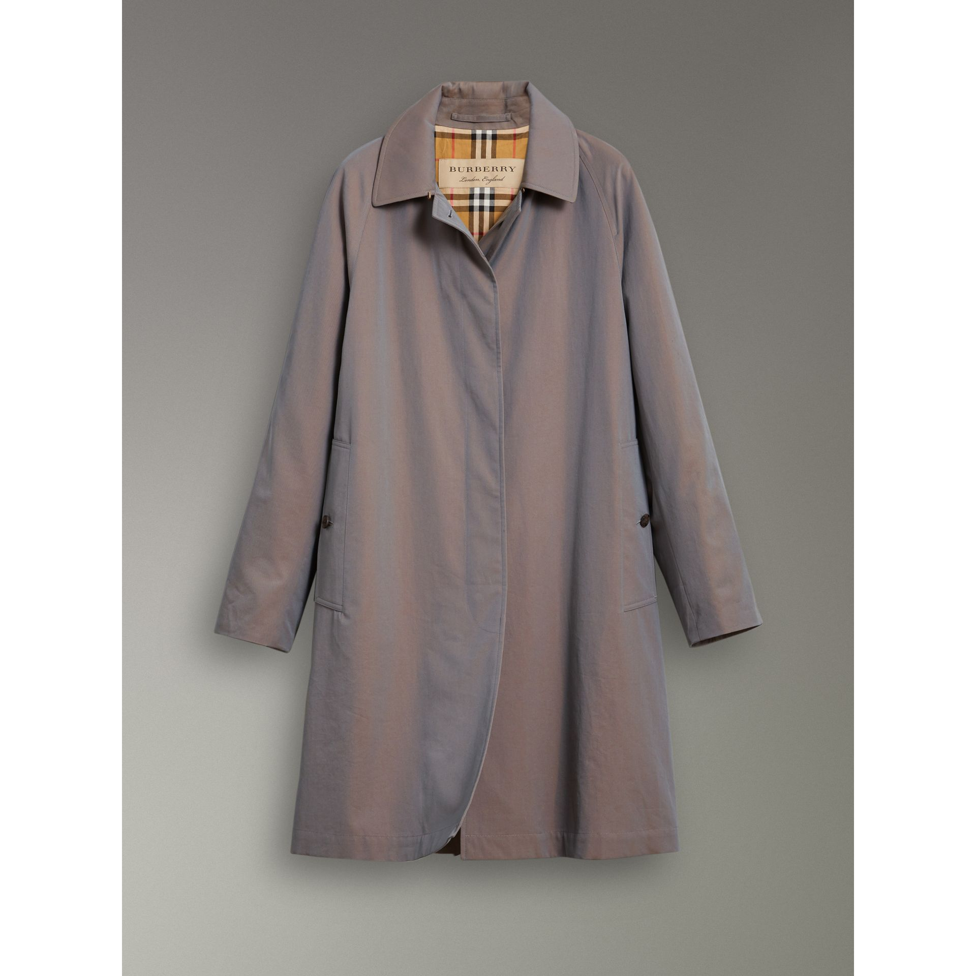 Car Coat The Camden (Gris Lilas) - Femme | Burberry - photo de la galerie 3