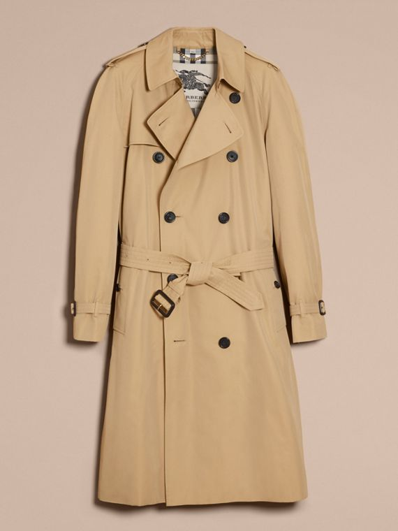 Miel Trench coat Westminster - Trench coat Heritage largo Miel - cell image 3