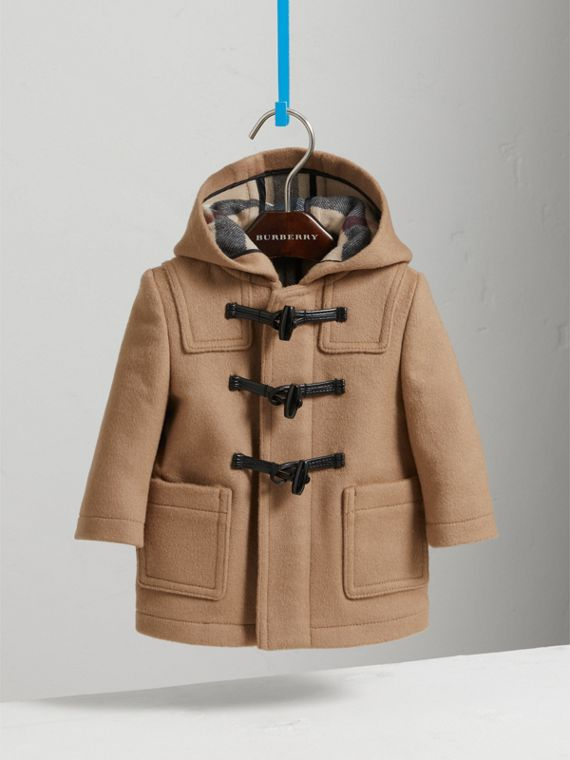 Duffle coat de lã (New Camel) | Burberry - cell image 2
