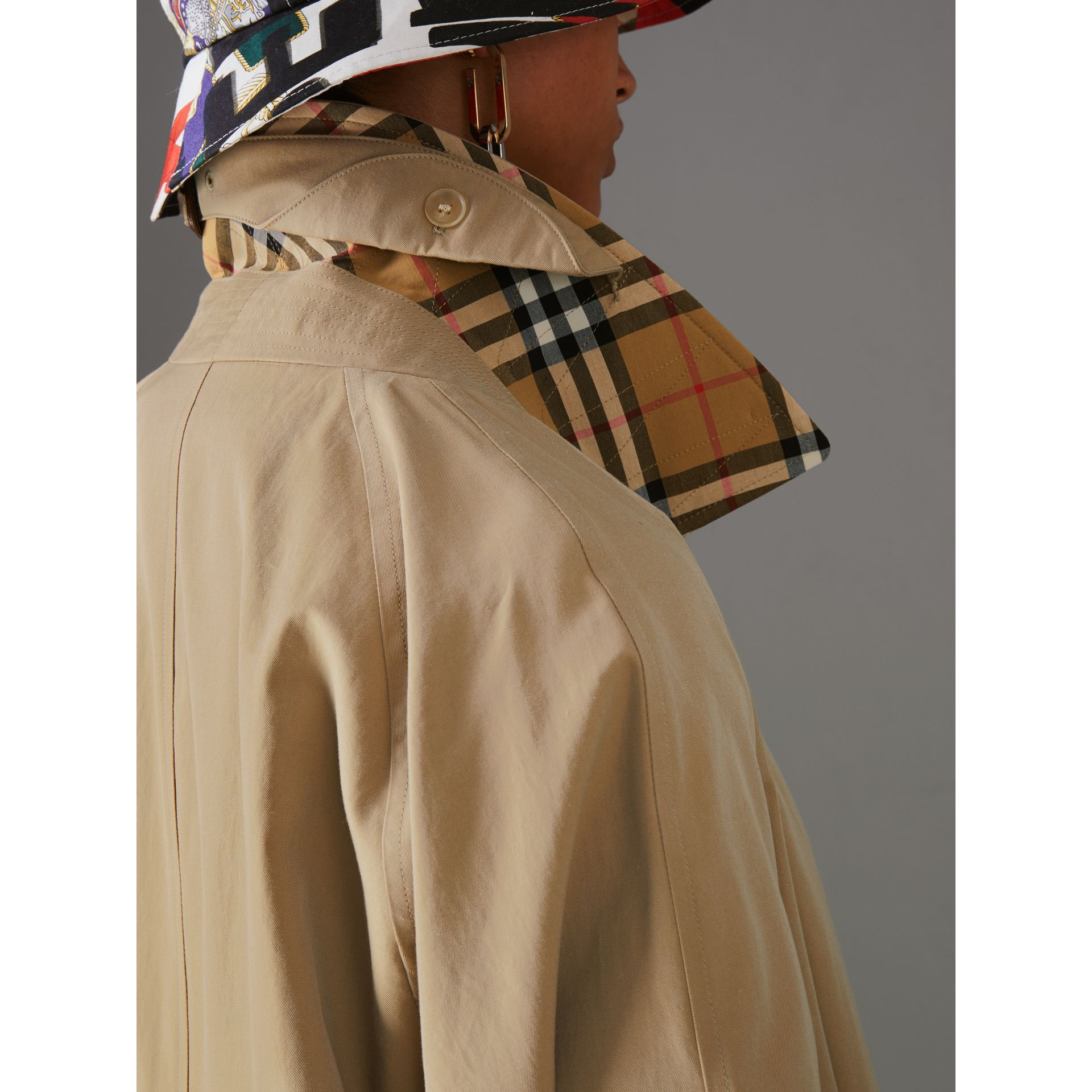 The Camden Car Coat in Honey - Women | Burberry Australia - gallery image 4
