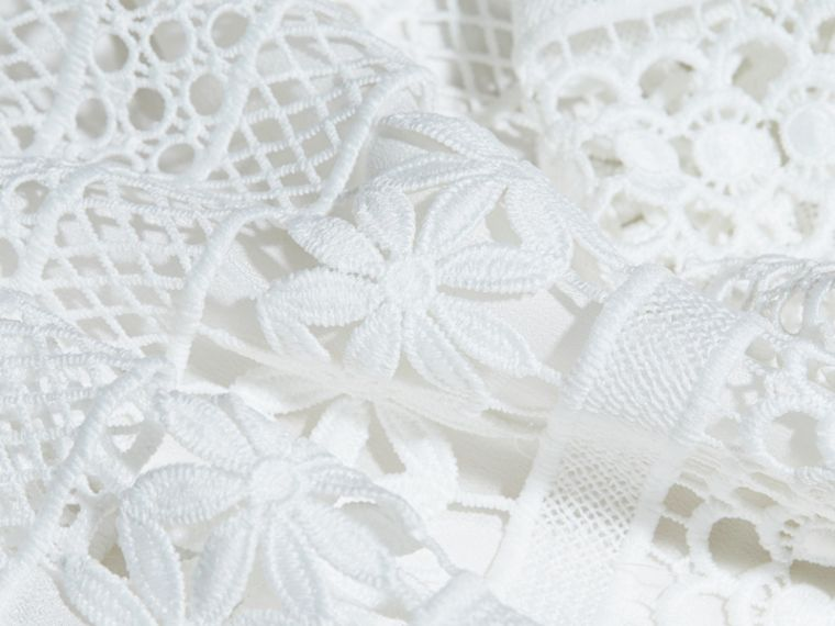 Macramé Lace Dropped-waist Dress - cell image 1