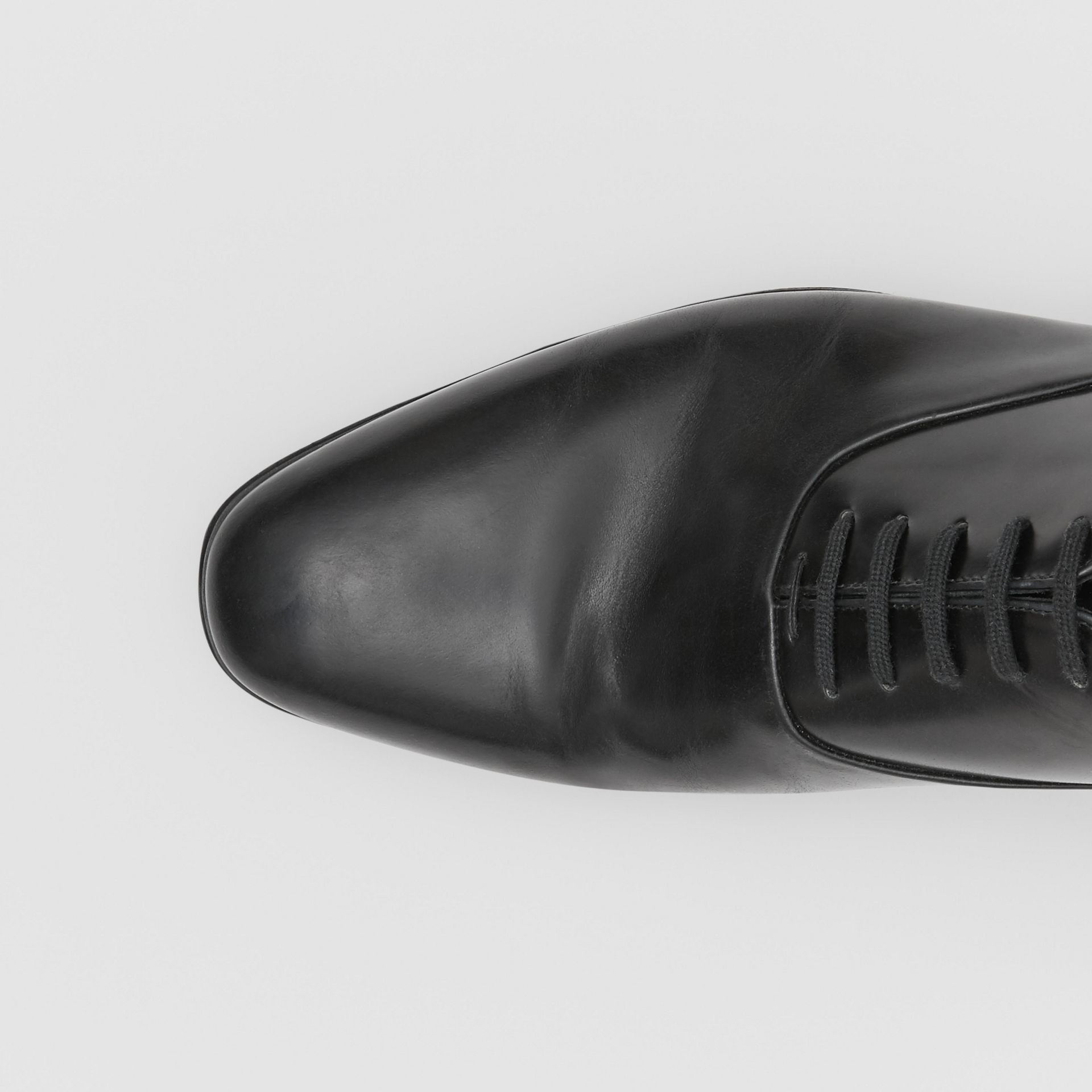 Leather Oxford Shoes in Black - Men | Burberry United Kingdom - gallery image 1