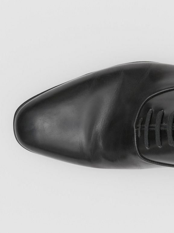 Leather Oxford Shoes in Black - Men | Burberry United Kingdom - cell image 1