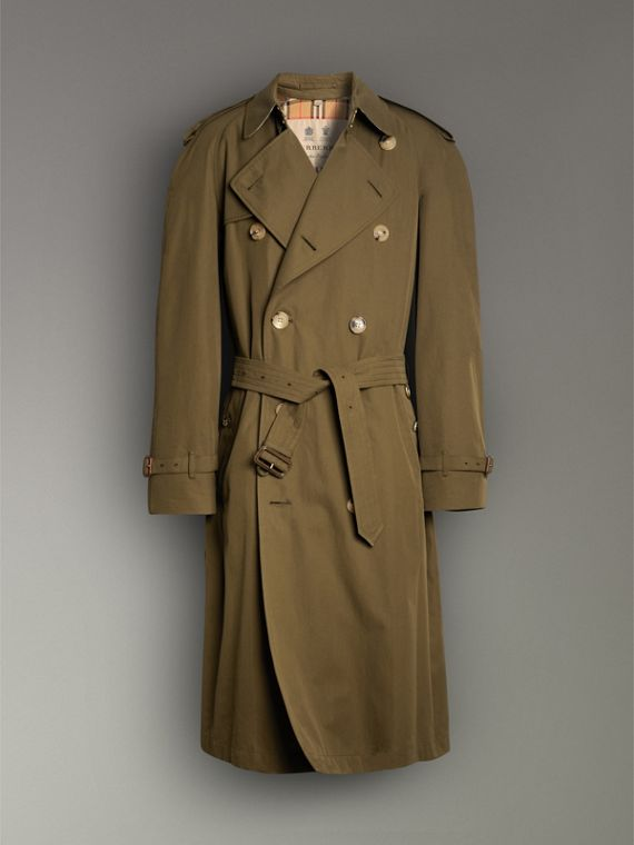 The Westminster Heritage Trench Coat in Dark Military Khaki - Men | Burberry - cell image 3