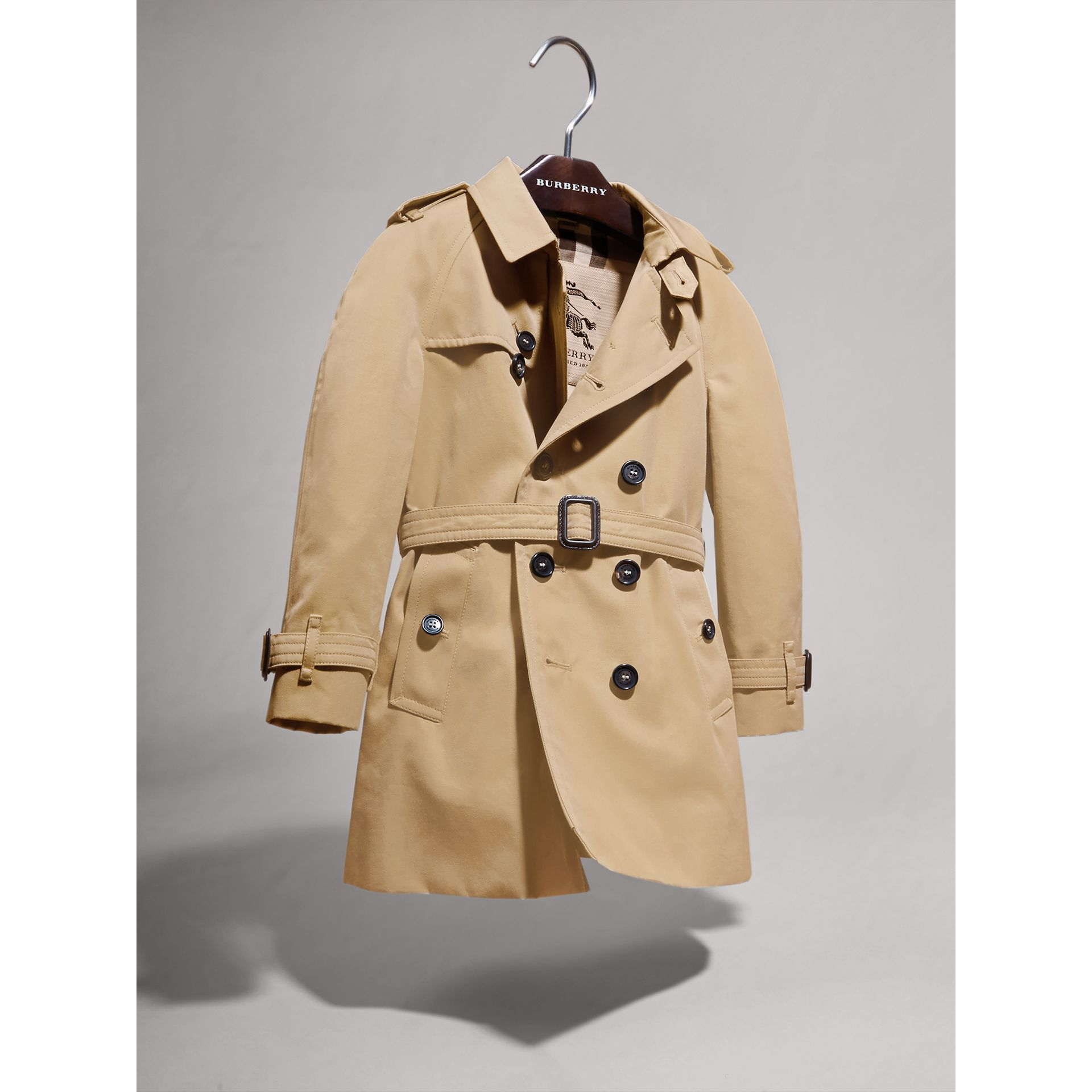The Wiltshire Trench Coat in Honey | Burberry Singapore - gallery image 2