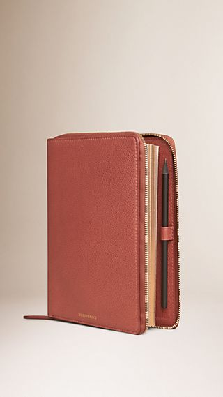 Ziparound Grainy Leather 2016 A5 Diary