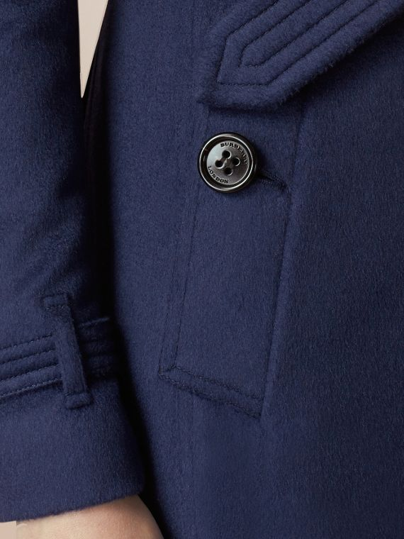 Empire blue Sandringham Fit Cashmere Trench Coat Empire Blue - cell image 3