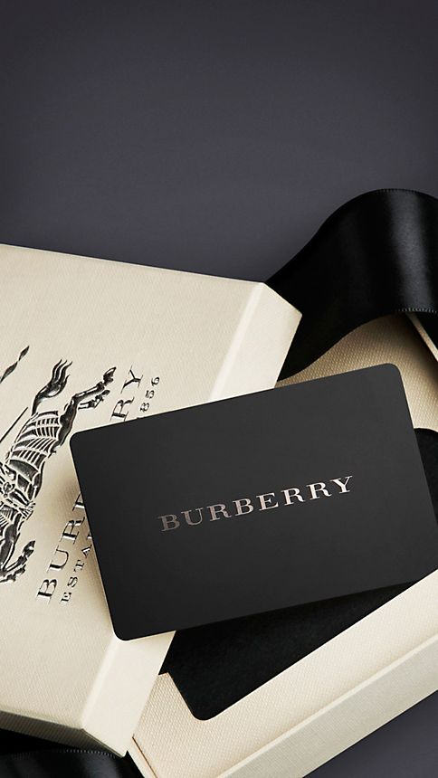 Burberry Gift Card - Image 1