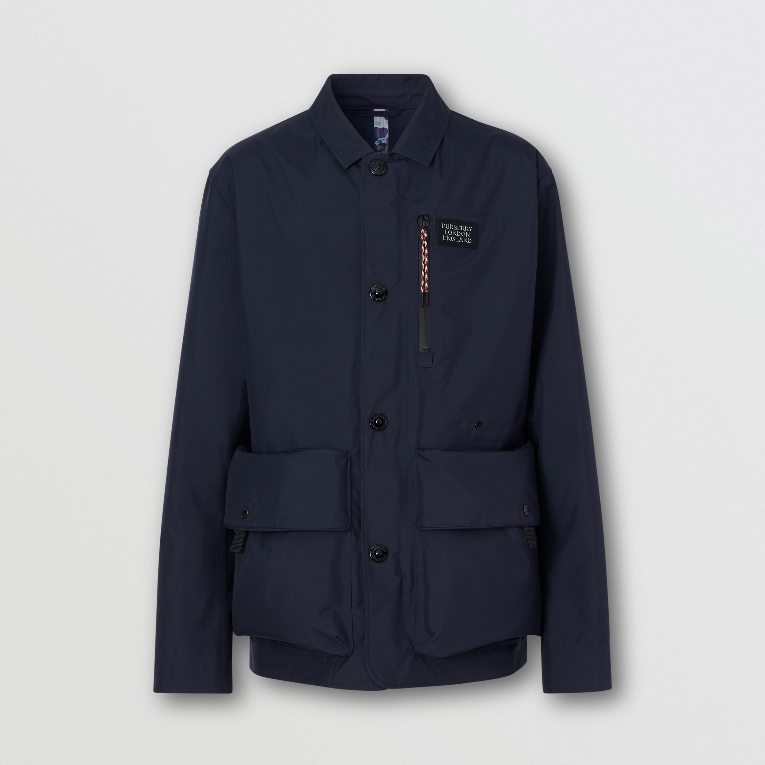 Logo Appliqué Nylon Field Jacket - Men | Burberry - 4