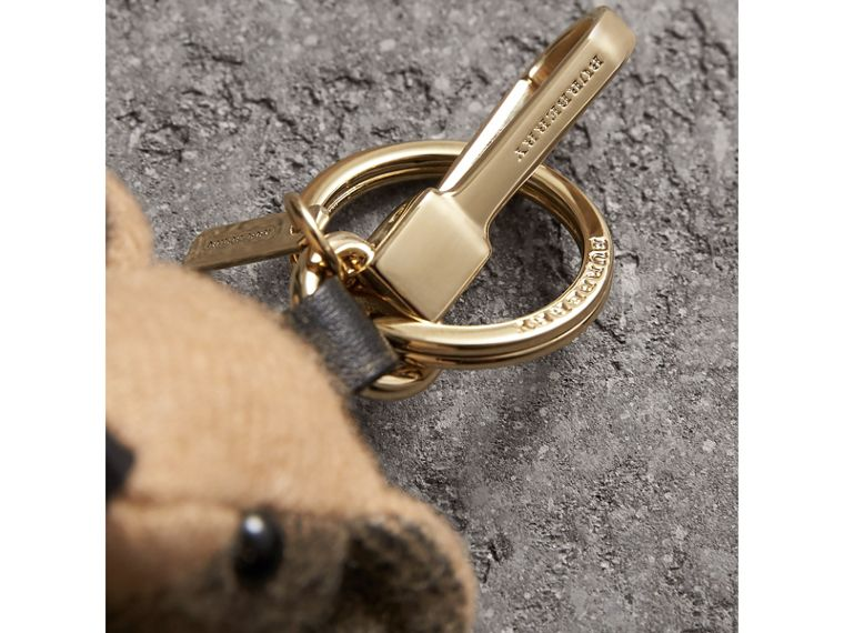 Thomas Bear Charm in Trench Coat in Camel | Burberry Australia - cell image 1