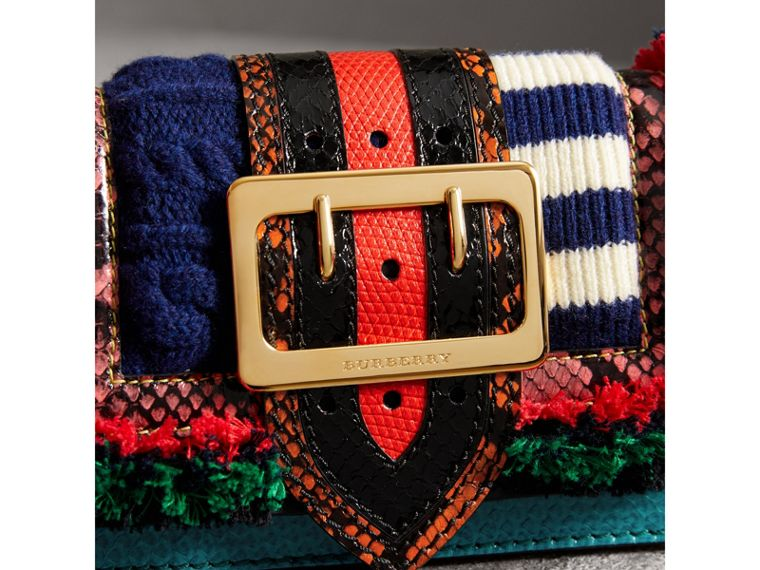 The Patchwork in Exotics and Knitted Wool in Multicolour - Women | Burberry Singapore - cell image 1
