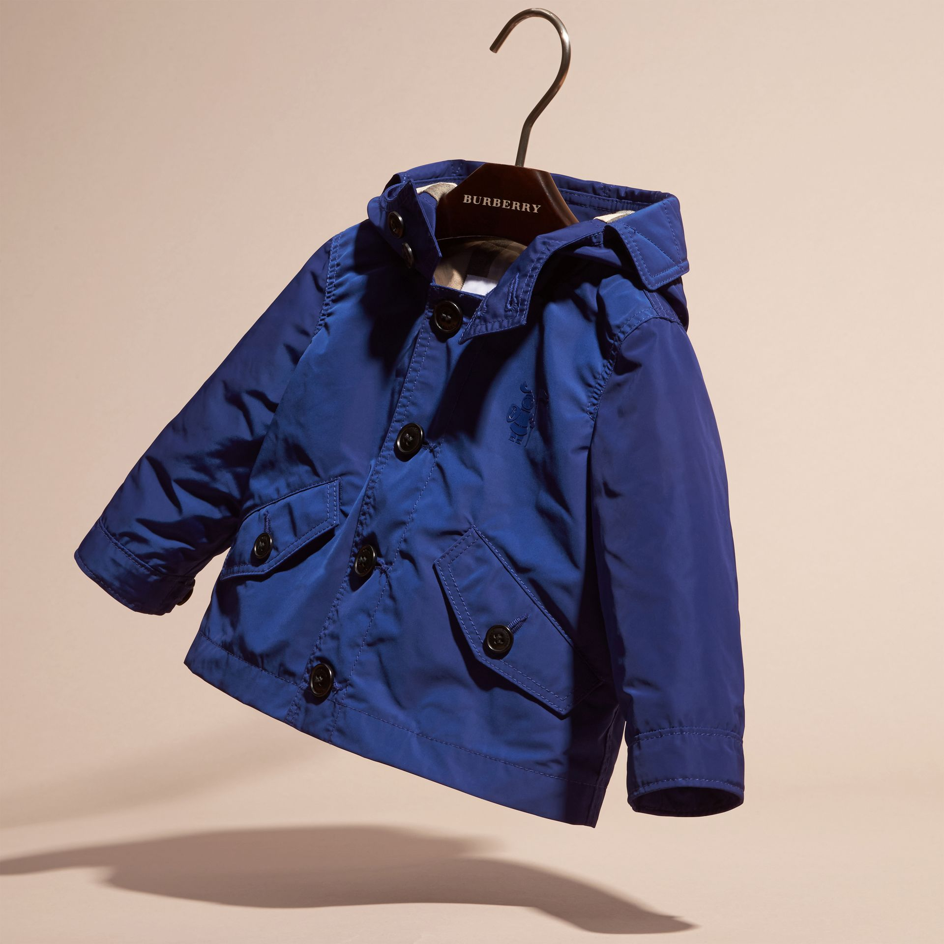Bright lapis Packaway Technical Parka Jacket Bright Lapis - gallery image 3
