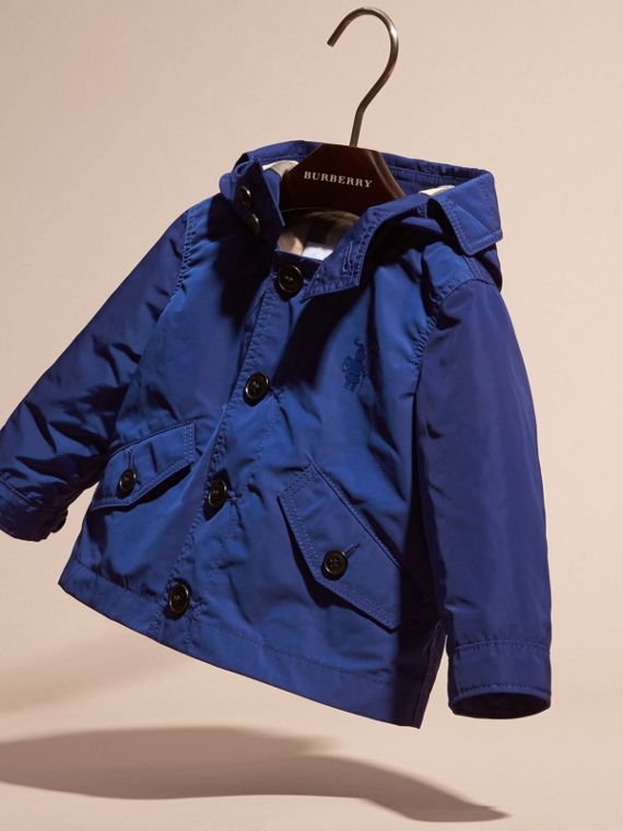 Bright lapis Packaway Technical Parka Jacket Bright Lapis - cell image 2