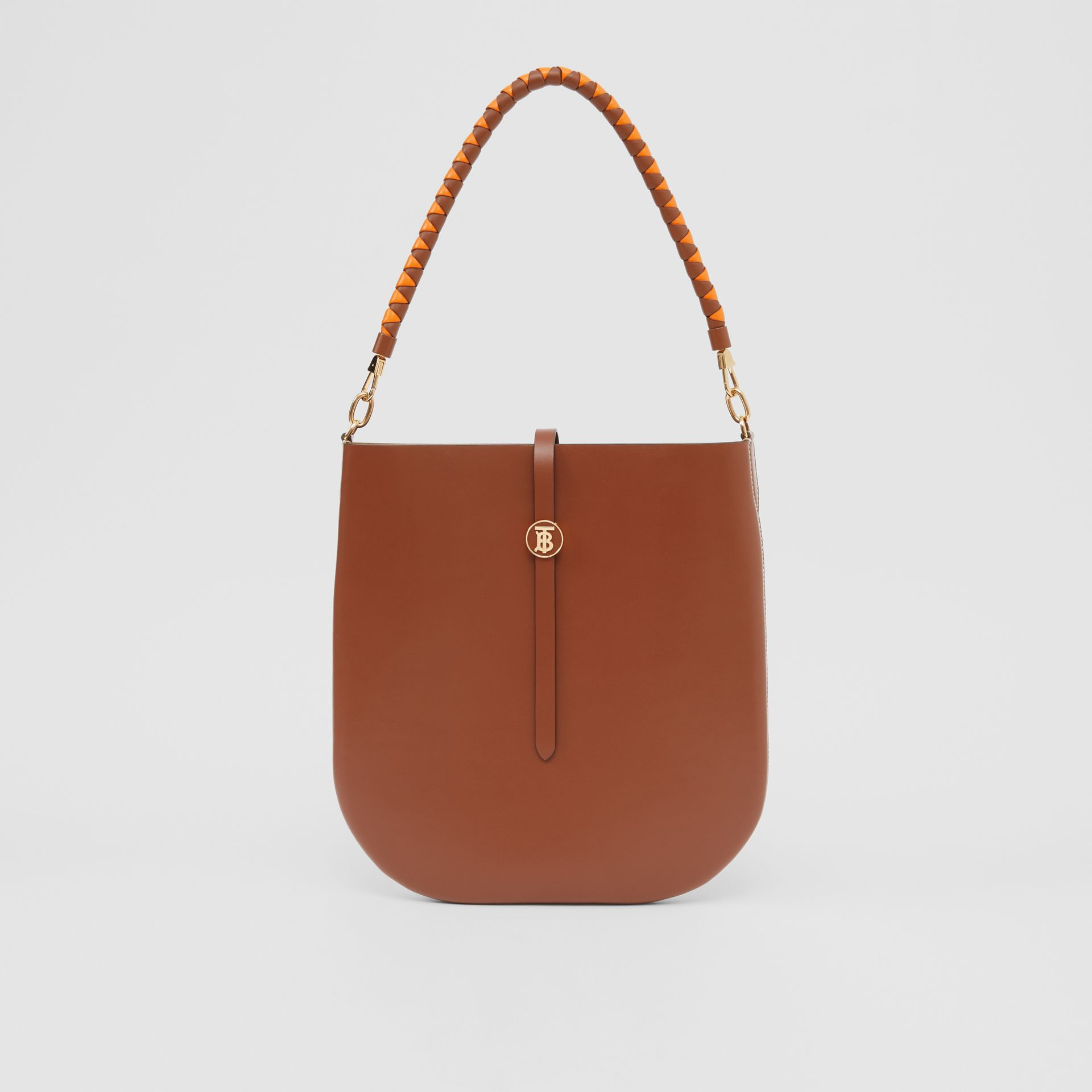Leather Anne Bag in Tan - Women | Burberry Australia - gallery image 0