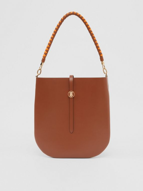 Leather Anne Bag in Tan