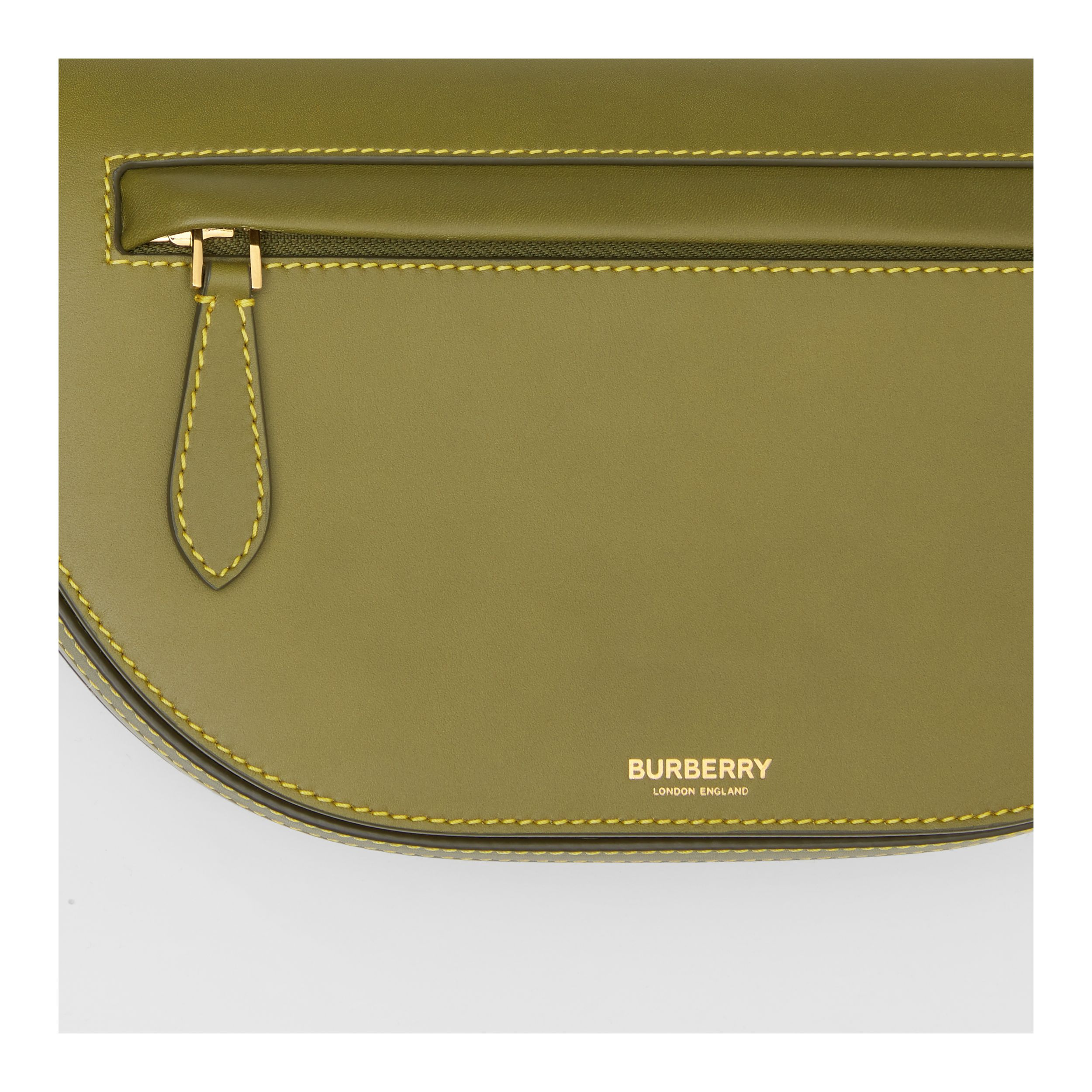 Small Leather Olympia Bag in Juniper Green | Burberry - 2
